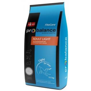 ProBalance Adult Light  сухой для вз. собак всех пород 15 кг