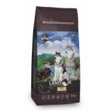 LANDOR Полнорационный сухой корм для взрослых собак всех пород рыба с рисом 1 кг
