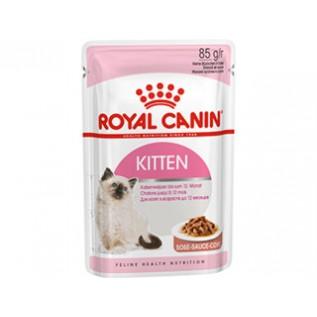 Kitten Instinctive (в желе) 85 гр 12 шт