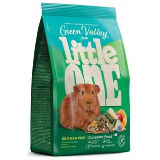 "Little One Корм из разнотравья ""Зеленая долина"" д/морских свинок, пакет 750г"