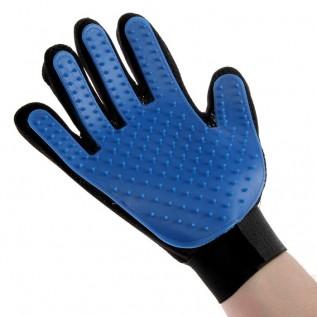 Рукавица-щетка для шерсти