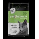 Пауч ProBalance Sensitive для взрослых кошек с чувствительным пищеварением