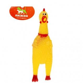 """Игрушка пищащая """"Курица"""" малая, 16,5 см"""