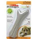PETSTAGES игрушка для собак DEERHORN, с оленьими рогами маленькая