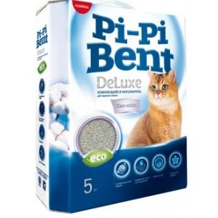 Pi-Pi-Bent Deluxe Clean cotton комкующийся наполнитель
