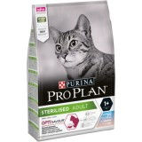 Pro Plan сухой корм  д/кошек стерилизованных треска форель