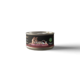 LANDOR дополнительное питание для взрослых кошек куриная грудка с крабом 70 гр