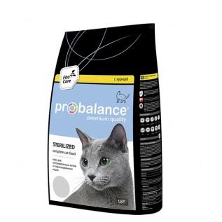 ProBalance 1,8 кг Sterilized сухой для стерилиз. кошек/ кастр.котов