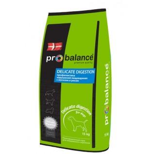 ProBalance Delicate  сухой для вз. собак всех пород лосось-рис 15 кг