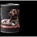 LANDOR Полноценный сбалансированный влажный корм для щенков всех пород  индейка с говядиной  0,4 кг