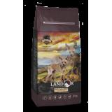 LANDOR Полнорационный сухой корм для взрослых собак мелких пород ягненок с рисом 1 кг