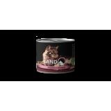 LANDOR Полноценный сбалансированный влажный корм для стерилизованных взрослых кошек индейка с клюквой 0,2 кг
