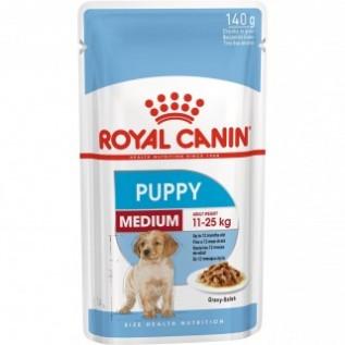Medium Puppy Медиум Паппи пауч 140г*10 в соусе д/щенков средних пород собак
