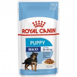 Maxi Puppy Макси Паппи пауч 140г*10 в соусе д/щенков крупных пород собак