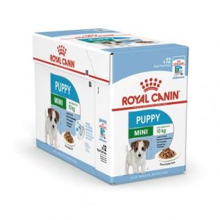 Mini Puppy - паучи для щенков мелких пород в соусе (упаковка 12 штук по 85г)